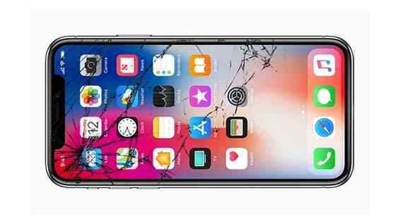 Màn hình IPhone X bể kính