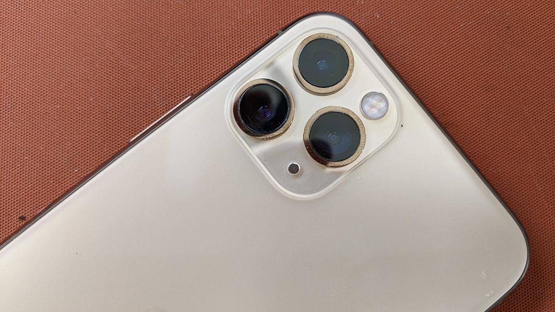 hình ảnh minh họa iphone 12 pro sau khi đã thay mặt kính camera